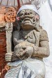 Strażowa statua w udong blisko balijczyk Hinduskiej świątyni, Buruan, Bali, Indonezja zdjęcie stock