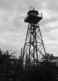 Strażowy wierza przy Alcatraz więzieniem fotografia royalty free