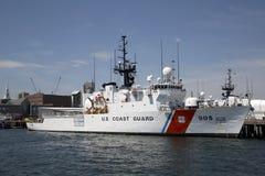 Straży przybrzeżnej zawleczka przy molem Zdjęcie Royalty Free