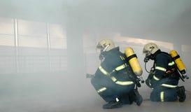 strażacy Obrazy Royalty Free