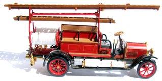 strażacy to historyczne samochód Obraz Royalty Free