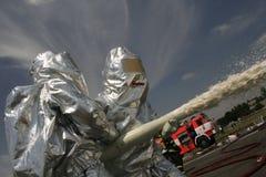 Strażacy w akci Zdjęcie Royalty Free
