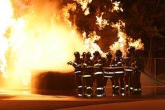 strażaków. Obrazy Royalty Free