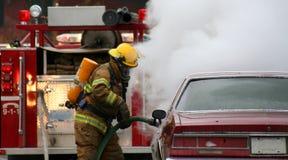 strażaków. Fotografia Royalty Free