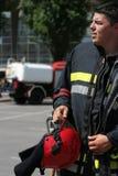 strażak Fotografia Stock