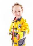 strażak przystojny Zdjęcie Royalty Free