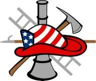 STRAŻAKA logo Zdjęcia Royalty Free