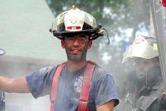 strażaka wyspy rhode warren Zdjęcie Royalty Free