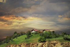 Straževica. Is located in the central part of the neighborhood, on the hill of the same name Stock Photography