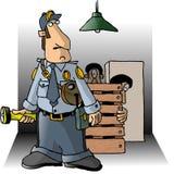strażnik ilustracja wektor