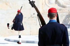 strażnik greece Zdjęcie Royalty Free