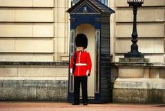 strażnik królewski Obrazy Royalty Free