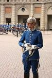 strażnik królewski Stockholm zmian Obraz Royalty Free