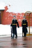 Strażnik zaszczyt zmiana Zdjęcie Royalty Free