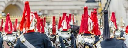 Strażowa ceremonia przy buckingham palace, Londyn, UK Zdjęcia Royalty Free