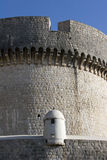 Strażowy miejsce na fortecy Zdjęcia Royalty Free