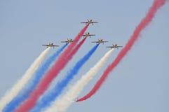 Straal de vechterskunstvliegen van ROCAF Royalty-vrije Stock Foto's