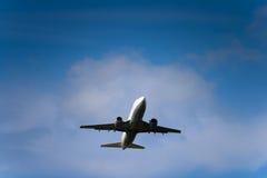 Straal lijnvliegtuig stock fotografie