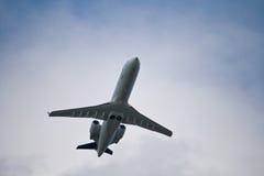 Straal lijnvliegtuig stock afbeeldingen