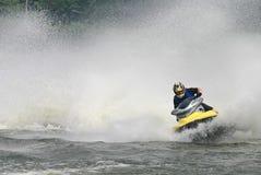 Straal ski Stock Foto
