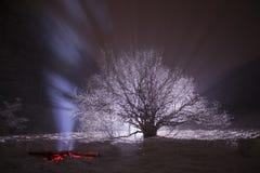 Straal van Licht Royalty-vrije Stock Fotografie