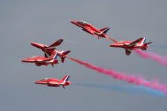 Straal vliegtuigenvertoning Royalty-vrije Stock Afbeelding