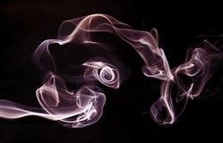 De rook van de stroom. Stock Afbeeldingen
