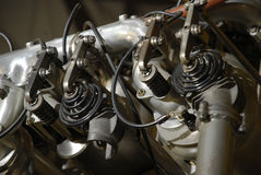 Straalmotor stock fotografie