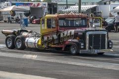 Straalvrachtwagen Stock Foto