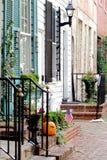 Straat in Alexandrië, Virginia Stock Afbeelding