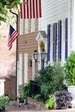 Straat in Alexandrië, Virginia Stock Fotografie