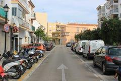 Straat in Algeciras, Spanje Royalty-vrije Stock Afbeeldingen