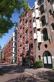 Straat in Amsterdam royalty-vrije stock foto's