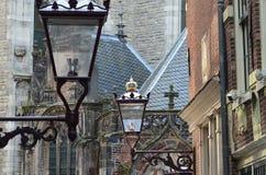 Straat in Amsterdam Royalty-vrije Stock Foto