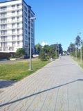 Straat in Anapa Royalty-vrije Stock Fotografie