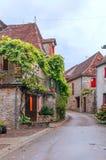 Straat in Aquitaine Royalty-vrije Stock Fotografie