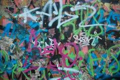 Straat Art Cool Background Stock Foto's