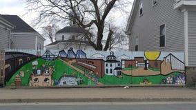Straat Art Halifax 1 stock afbeeldingen