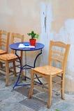Straat in Athene, La Placa Stock Fotografie