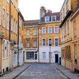 Straat in Bad, Engeland Stock Foto's