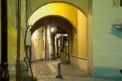 Straat in Baia-Merrie Royalty-vrije Stock Foto's