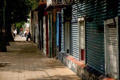 Straat in Boca Royalty-vrije Stock Afbeeldingen