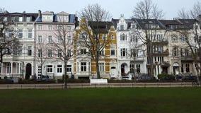 Straat in Bonn royalty-vrije stock foto's