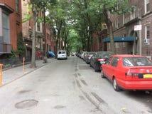 Straat in Brooklyn, New York Royalty-vrije Stock Foto's