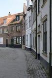 Straat in Brugge royalty-vrije stock fotografie