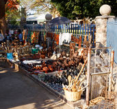 Straat in Bulawayo Zimbabwe Royalty-vrije Stock Fotografie