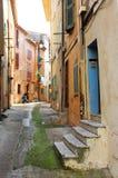 Straat in Cannes Royalty-vrije Stock Afbeeldingen