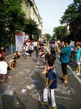 Straat Carnaval Stock Foto's