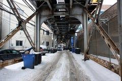 Straat in Chicago Royalty-vrije Stock Afbeeldingen