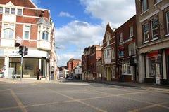Straat in Colchester Stock Foto